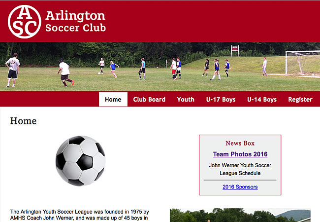 Arlington Youth Soccer League