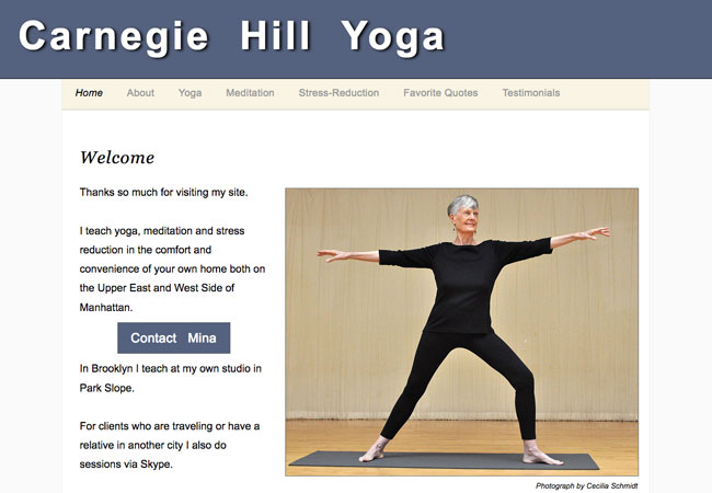 Carnegie  Hill  Yoga