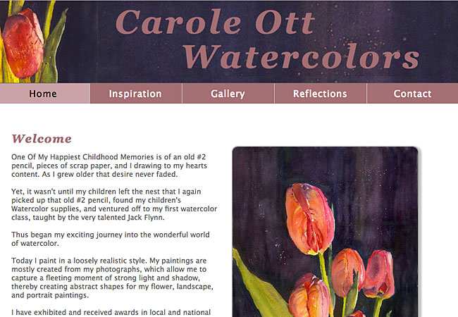 Carole Ott Watercolors