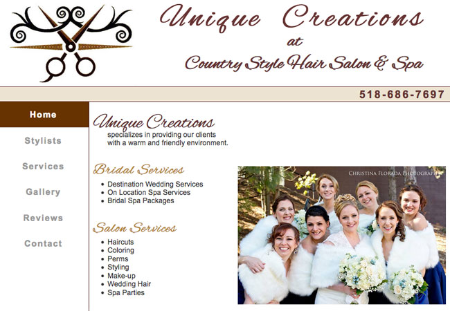 Unique Creations at Country Style Hair Salon and Spa