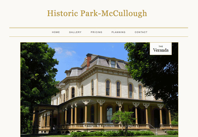 Historic Park-McCullough House & Carriage Barn