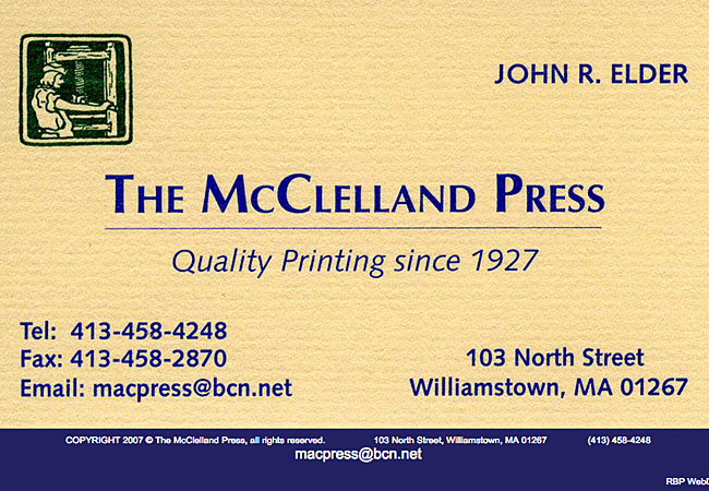 The McClelland Press