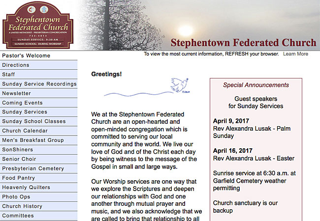 Stephentown Federated Church
