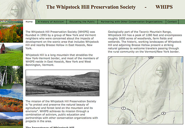 Whipstock Hill Preservation Society